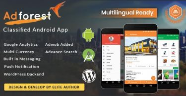 AdForest – Classified Native Android App
