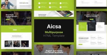Aicsa - Multipurpose Html Template