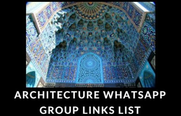 Architecture WhatsApp Group Link