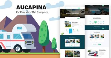 Aucapina - Camping Auto Home HTML Template