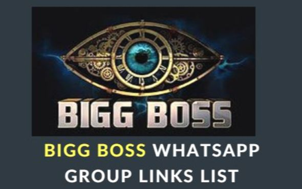 Bigg Boss Telugu & Tamil WhatsApp Group Links