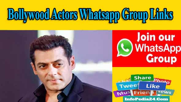 Bollywood Actors Whatsapp Group Links