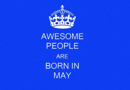 Characteristics of People Born In May