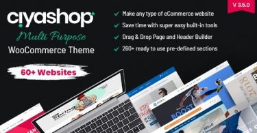 CiyaShop v3.5.0 - Responsive Multi-Purpose Theme