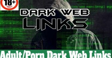 Dark Web Adult Link Collection