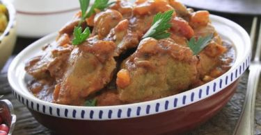 Delicious recipe for couscous with lamb