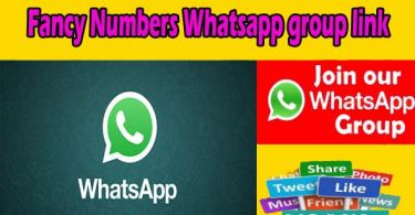 Fancy Numbers Whatsapp group link