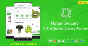 Flutter Multi Vendor Grocer