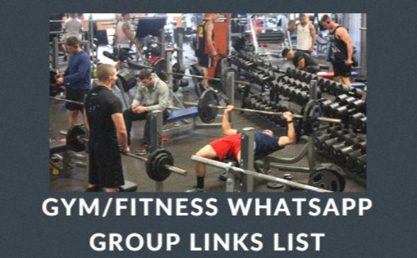 Gym/Fitness WhatsApp Group Links