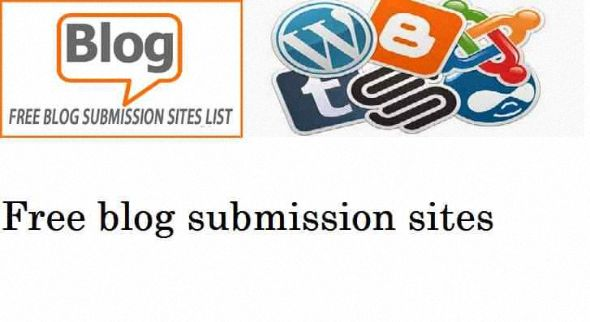 High pr blog submission sites List