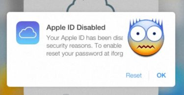 How To Fixed Disabled Your Apple ID