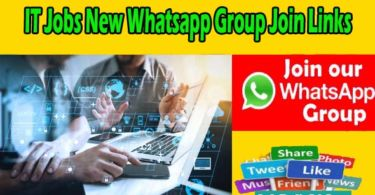 IT Jobs New Whatsapp Group Join Links
