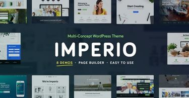 Imperio - Business, E-Commerce, Portfolio & Photography
