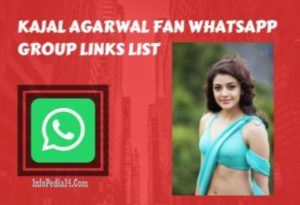 Kajal Agarwal WhatsApp Group Invite Links