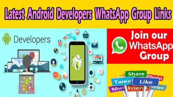 Latest Android Developers WhatsApp Group Links