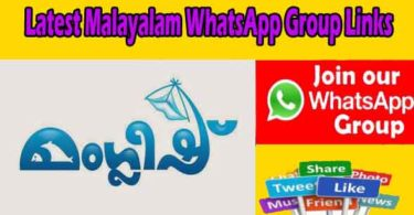 Latest Malayalam WhatsApp Group Links