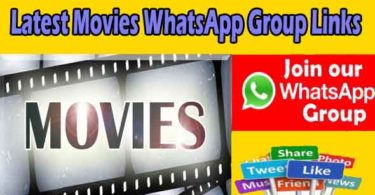 Latest Movies WhatsApp Group Links