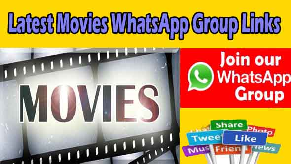 Latest Movies WhatsApp Group Links | New Hollywood & Bollywood