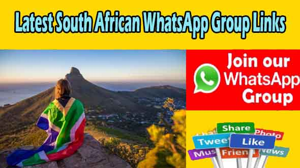 Latest South African WhatsApp Group Links