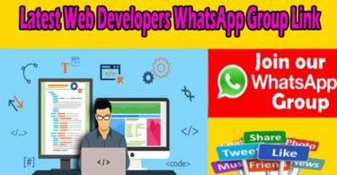 Latest Web Developers WhatsApp Group Link