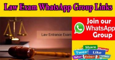 Law Exam WhatsApp Group Links