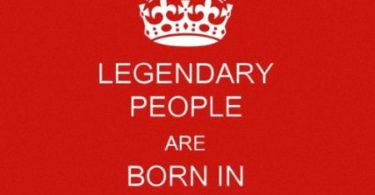 Legendary People are Born In January