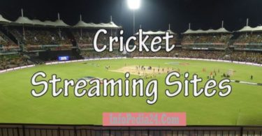 Live Streaming Sites To Watching Cricket Online