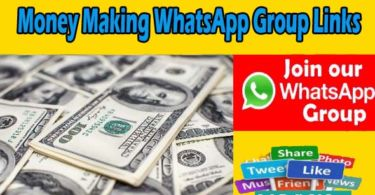 Money Making WhatsApp Group Links