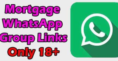 Mortgage WhatsApp Group Links