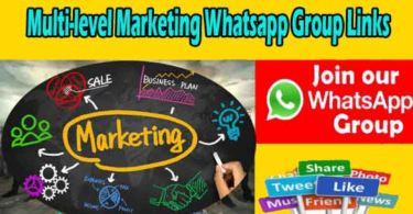 Multi-level Marketing Whatsapp Group Links