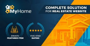 MyHome Real Estate WordPress Theme