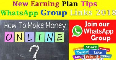 New Earning Plan Tips Whatsapp Group link