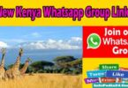 New Kenya Whatsapp Group Links
