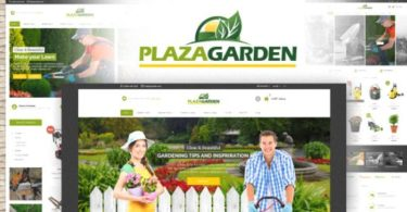 PlazaGarden–OpenCart Theme (Included Color Swatches)