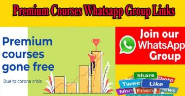 Premium Courses Whatsapp Group Links