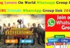 Pubg Lovers On World Whatsapp Group link 2019