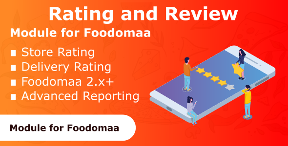 Rating and Review Module for Foodomaa