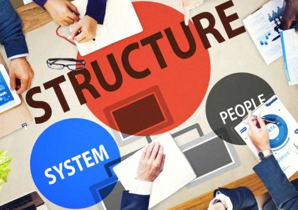 Registered business structure type is wrong