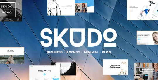 Skudo Responsive Multipurpose WordPress Theme