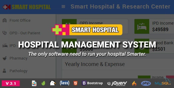Smart Hospital – Hospital Management System Nulled