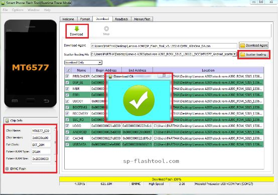 Sp Flash Tool letest Version free download