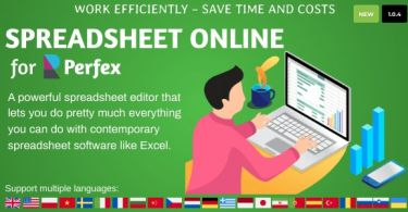 Spreadsheet Online for Perfex CRM