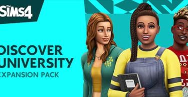 The Sims 4 Discover University PC Game