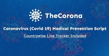 TheCorona - Coronavirus (Covid 19) Medical Prevention Script