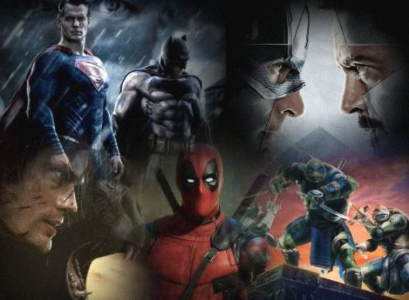 Top 5 Greatest Superhero Movies of 2016