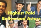 Top Highest Paid Bollywood Actors