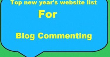 Top New Year's Website List For SEO