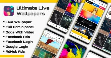 Ultimate Live Wallpapers Application