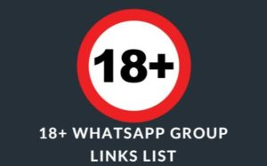 Update 18+ WhatsApp Group Links
