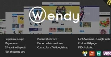 Wendy - Multi Store WooCommerce Theme